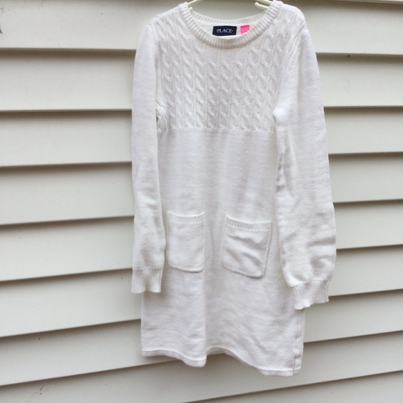 eb48e91befb Children s Place Other - The Children s Place White Sweater Dress